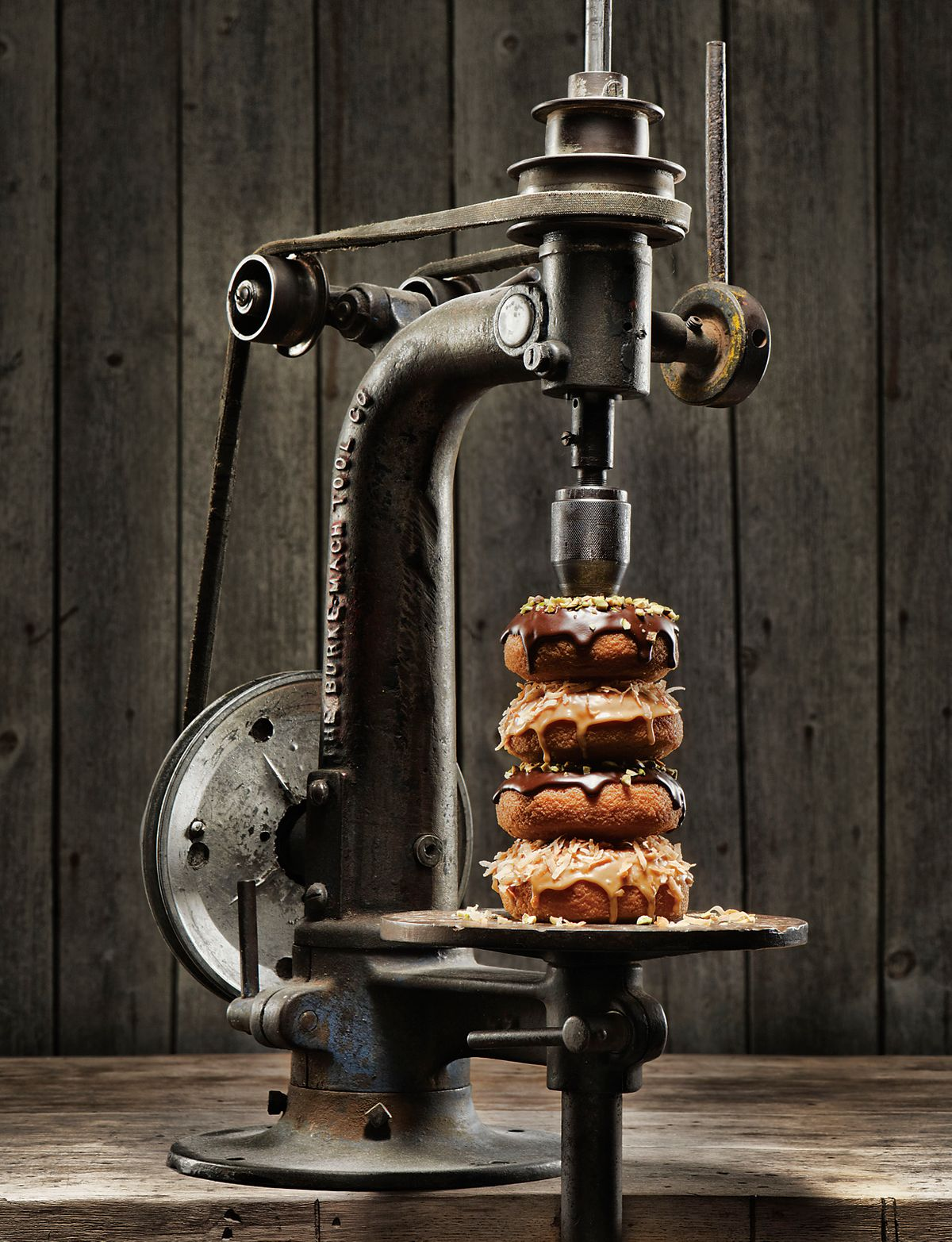 lisa bishop food stylist- drilled down donuts