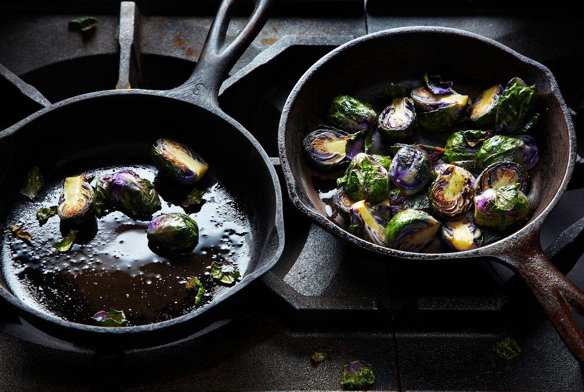 lisa bishop food stylist- purple brussel sprouts