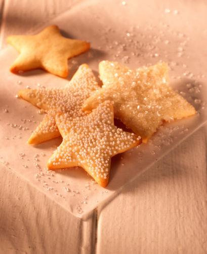 lisa bishop food stylist- sugar dusted star sugar cookies