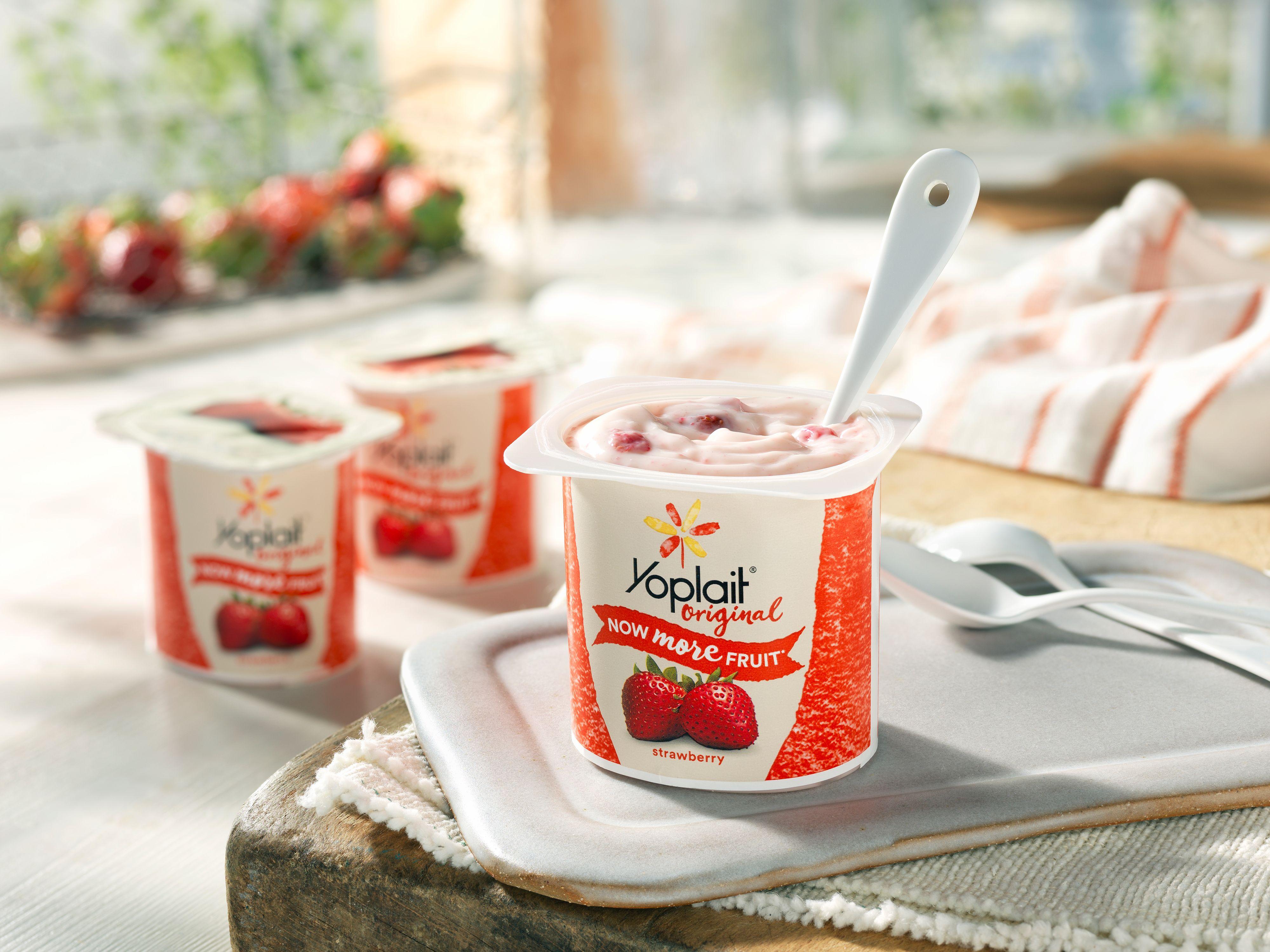 lisa bishop food stylist- Yoplait yogurt