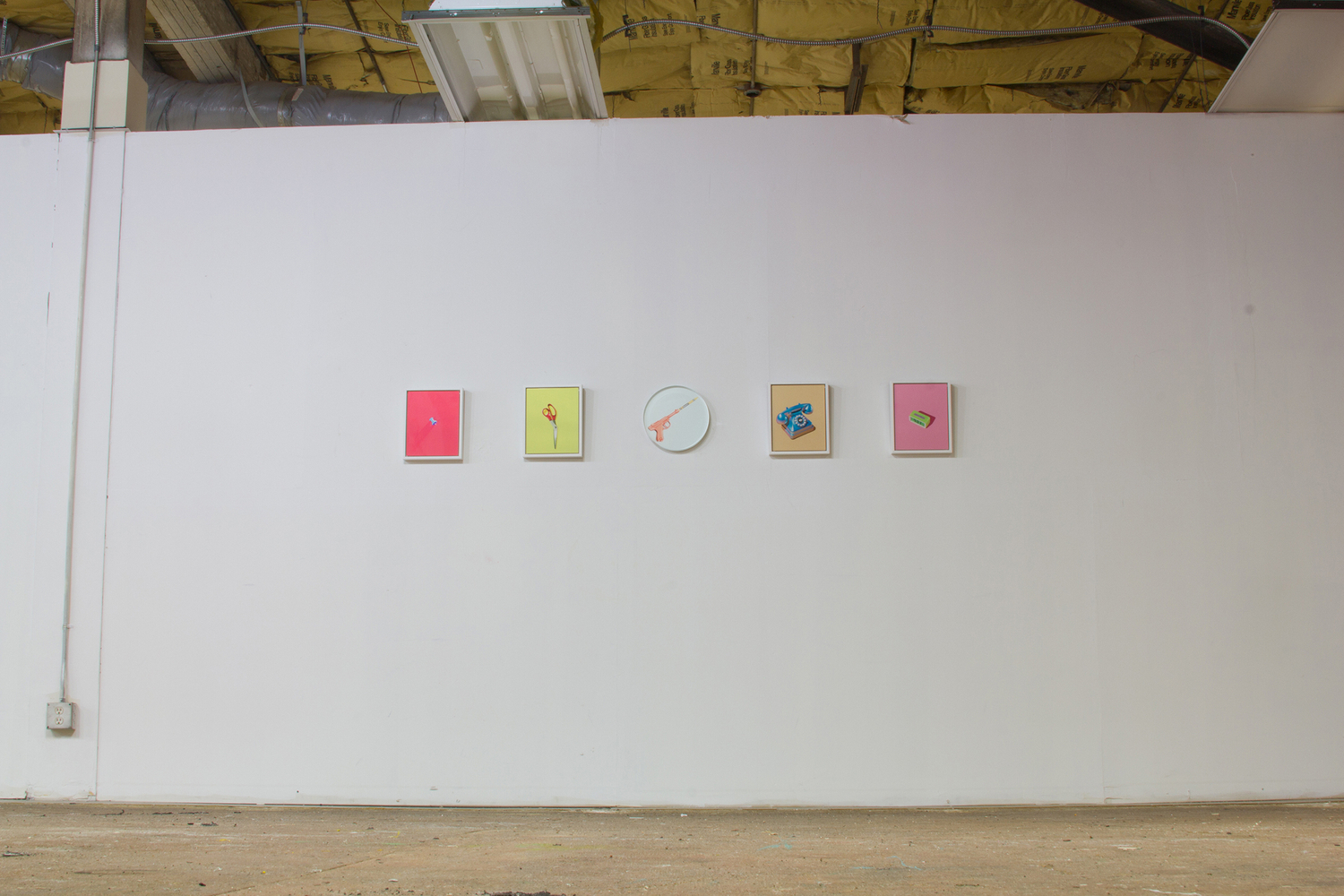 Sex, Drugs, and Office Supplies: installation view