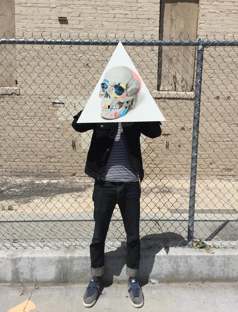 Ancient Gods Always Dream of Forever: Human Replica Skull