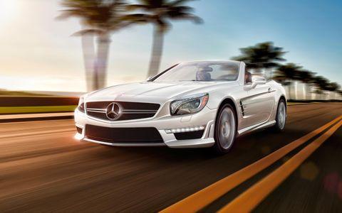 Mercedes -SL-Class-Roadster