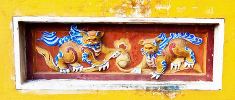 TEXTURES OF VIETNAM / HUE / FORBIDDEN CITY