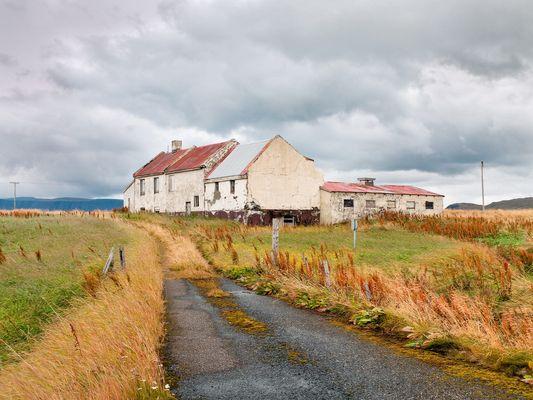 Abandoned Home Not Far From Reykjavik