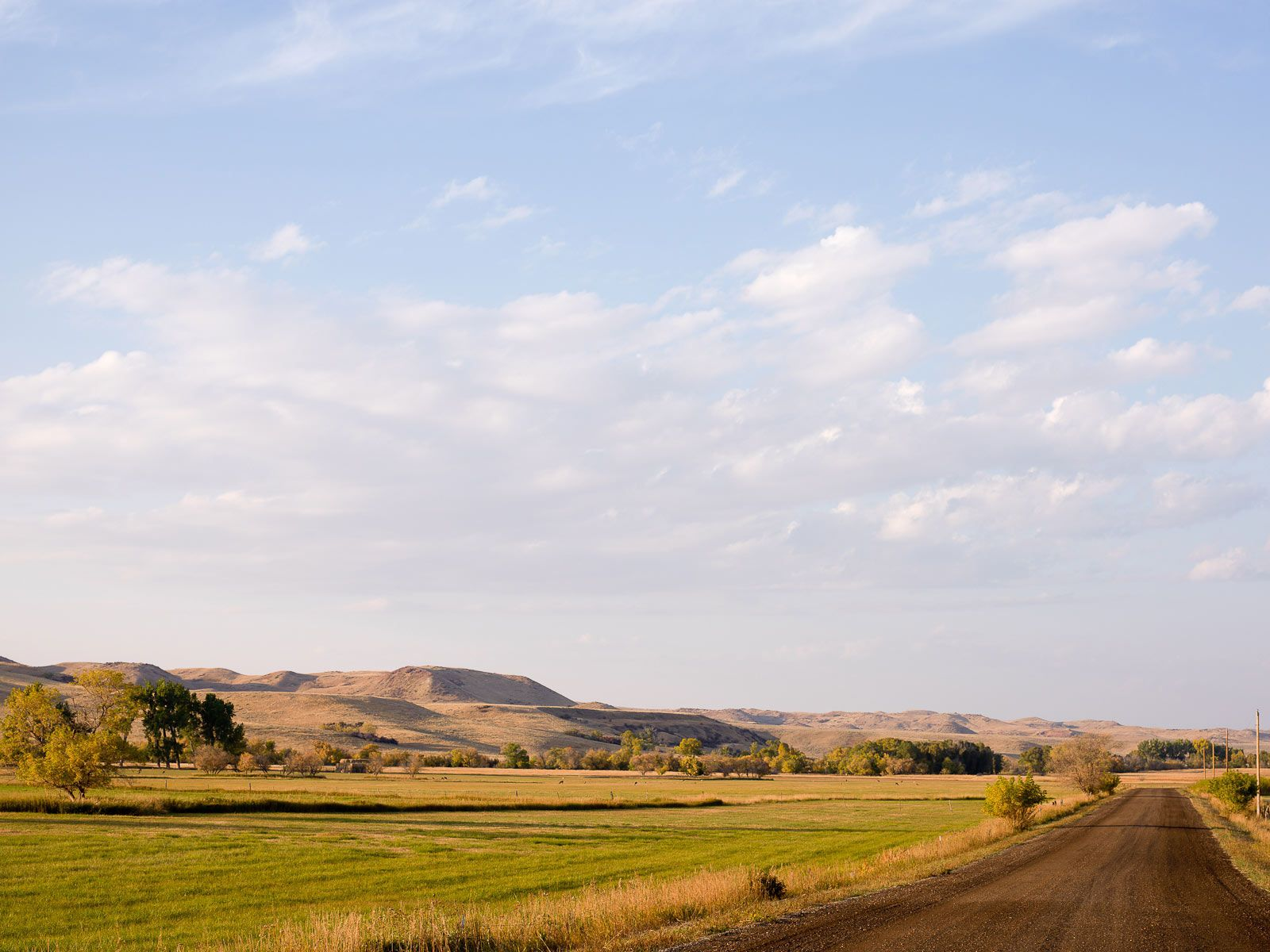 September Day Near Sheridan, Wyoming