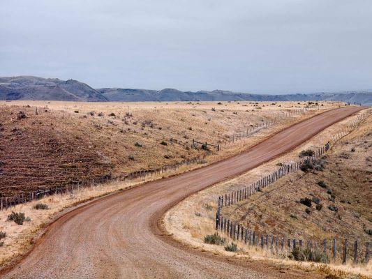 Piney Creek Road in Banner Wyoming