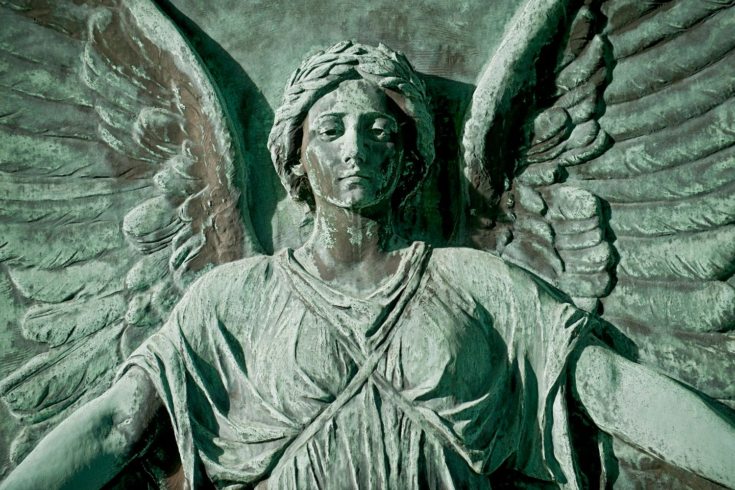 Relief Statue of an Angel