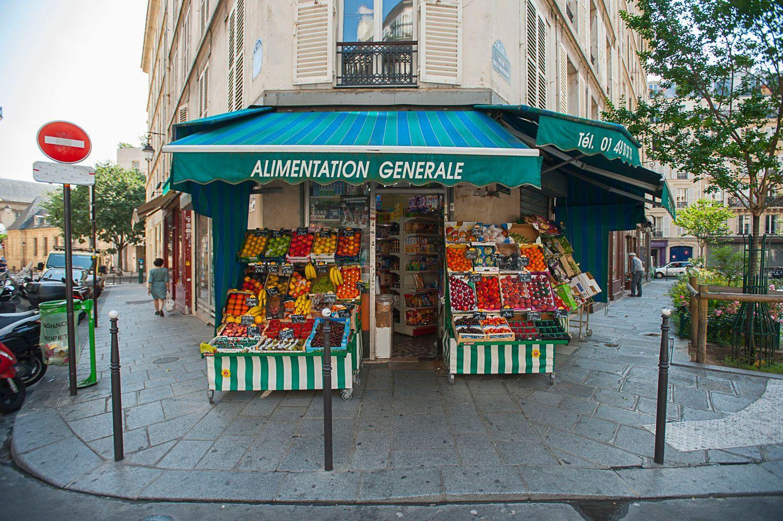 Corner Market, Paris, France