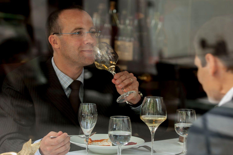 Lunch in Paris Restaurant