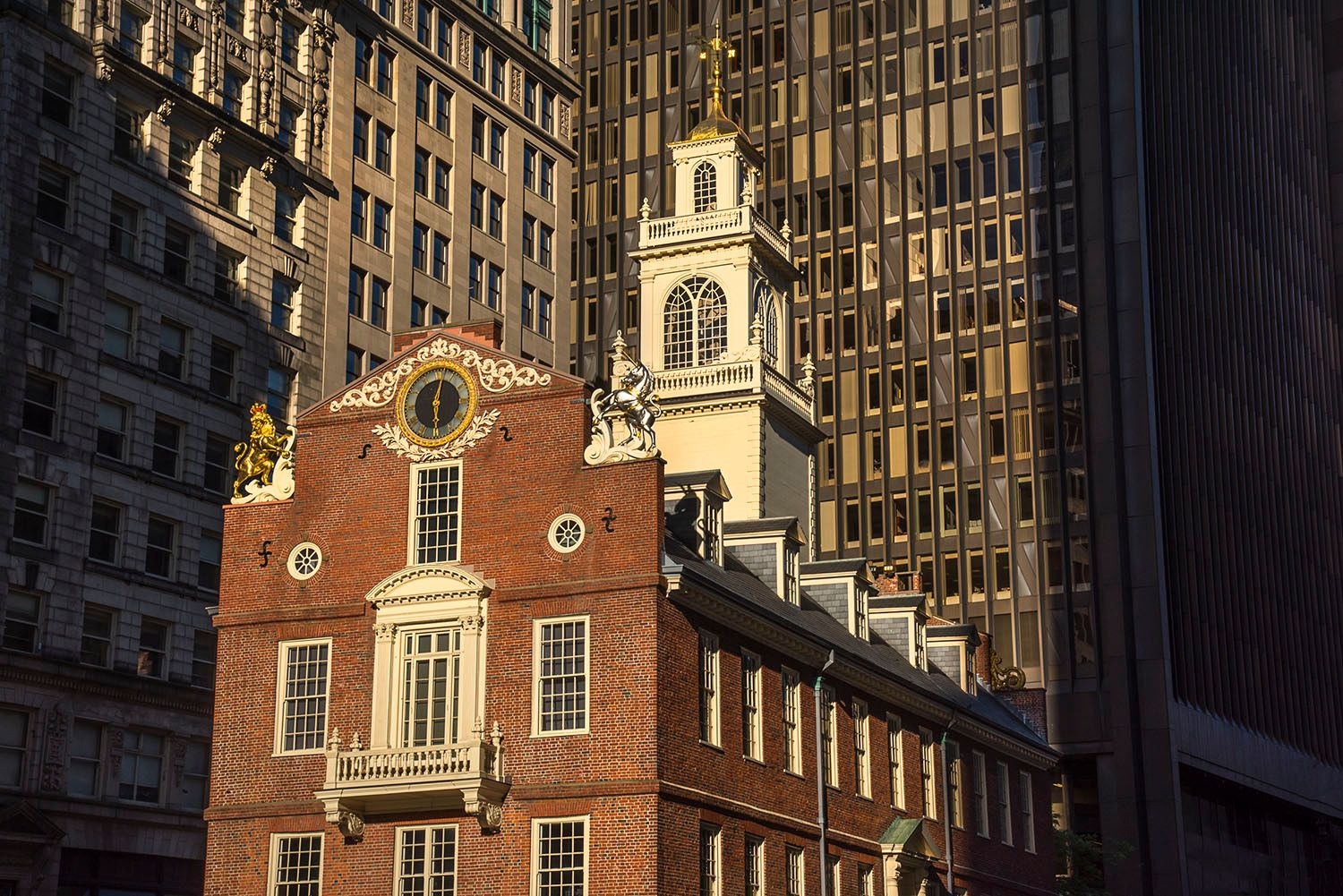 Old Massachusetts State House