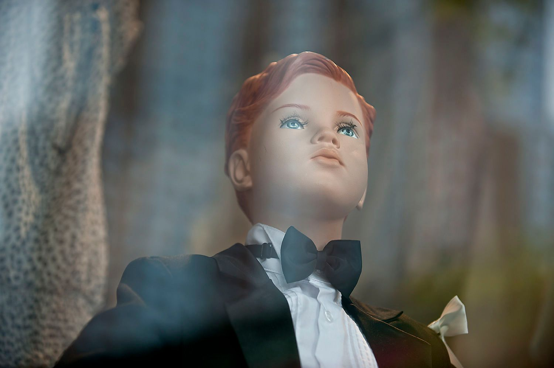 Boy Mannequin in Tuxedo