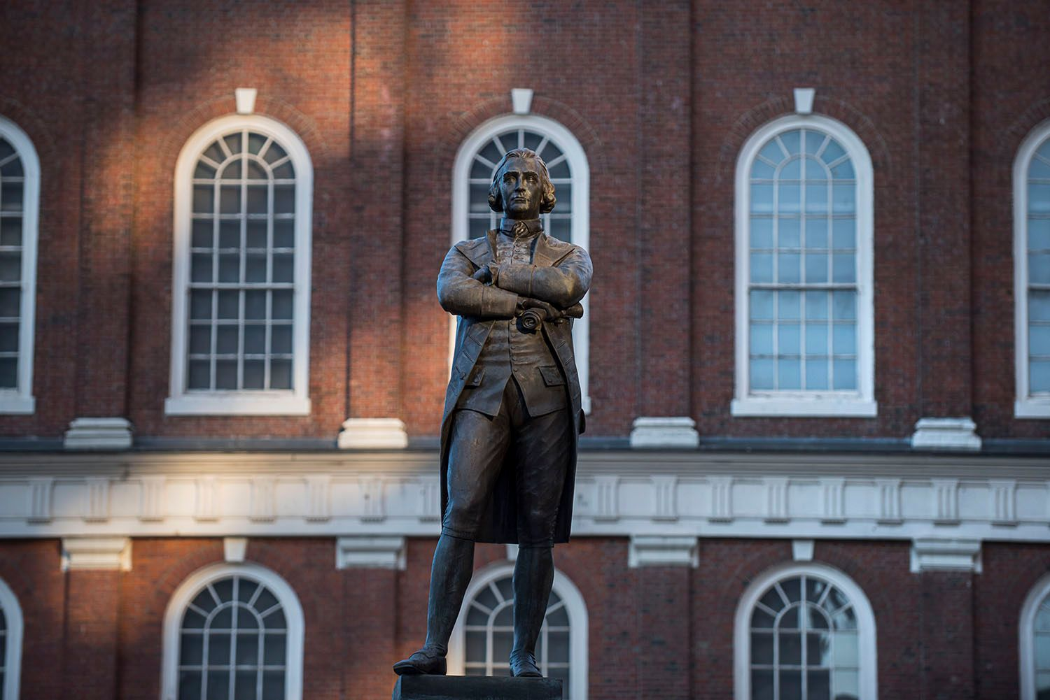 Bronze Statue of Samuel Adams