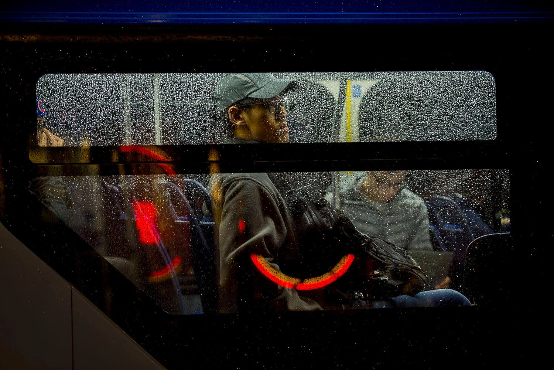 Bus Ride at Night