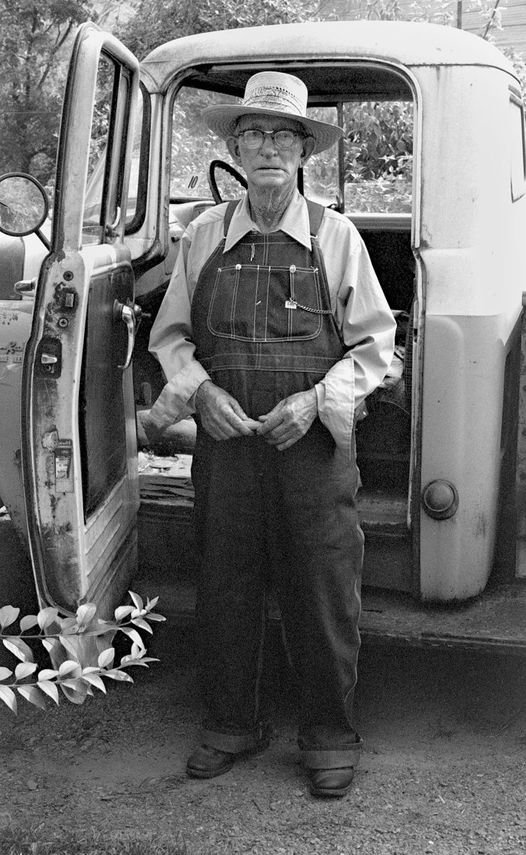 Farmer with Pick-up Truck