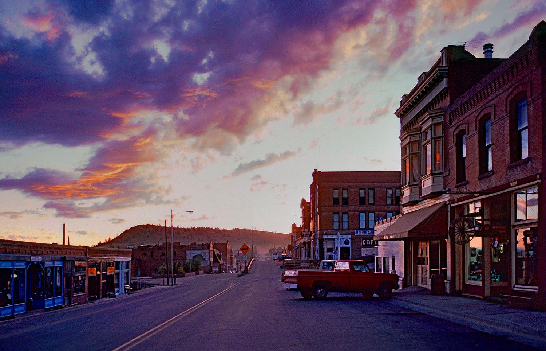 Small town, Colorado