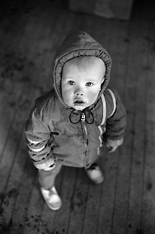 Child in Snowsuit