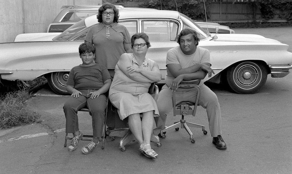 1970's Photographic Portraits: B&W