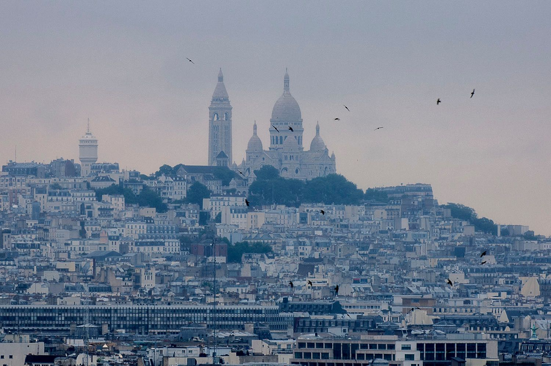 View of Sacre-Coeur