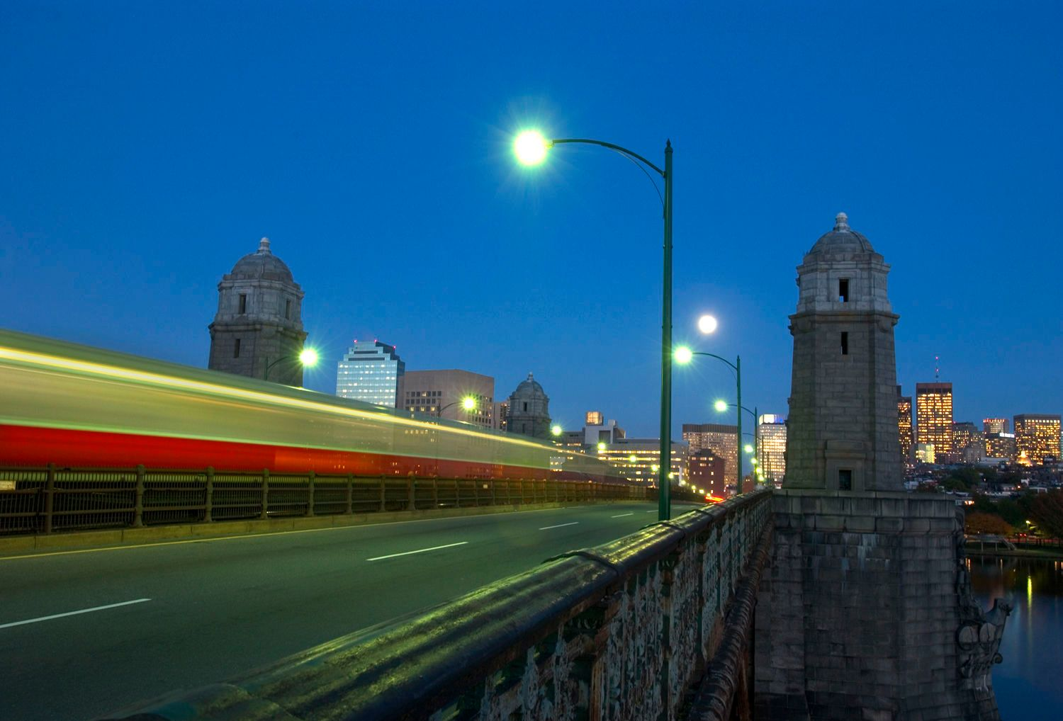 Longfellow Bridge, Boston, Ma