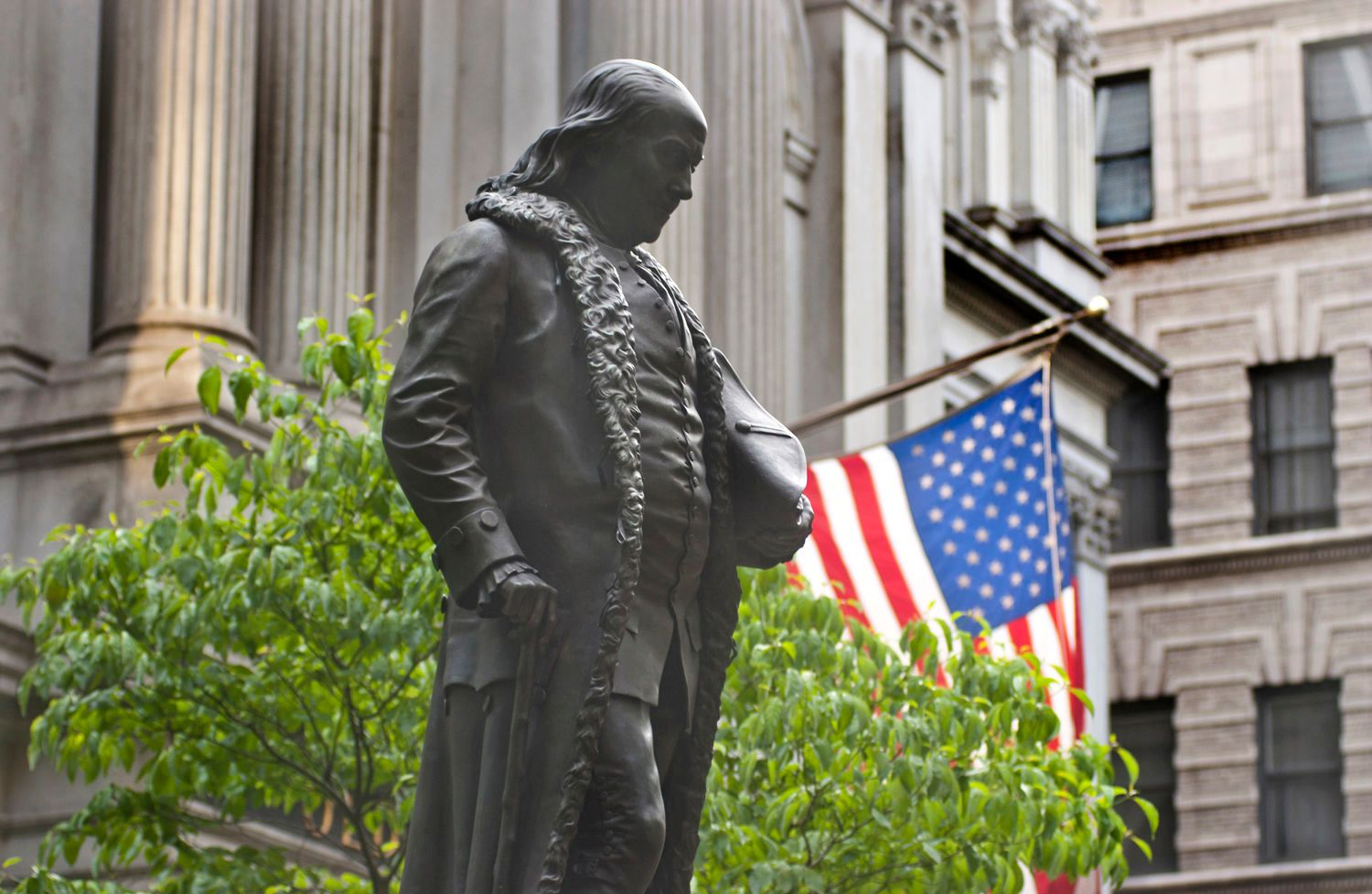 Ben Franklin Statue, Boston, MA