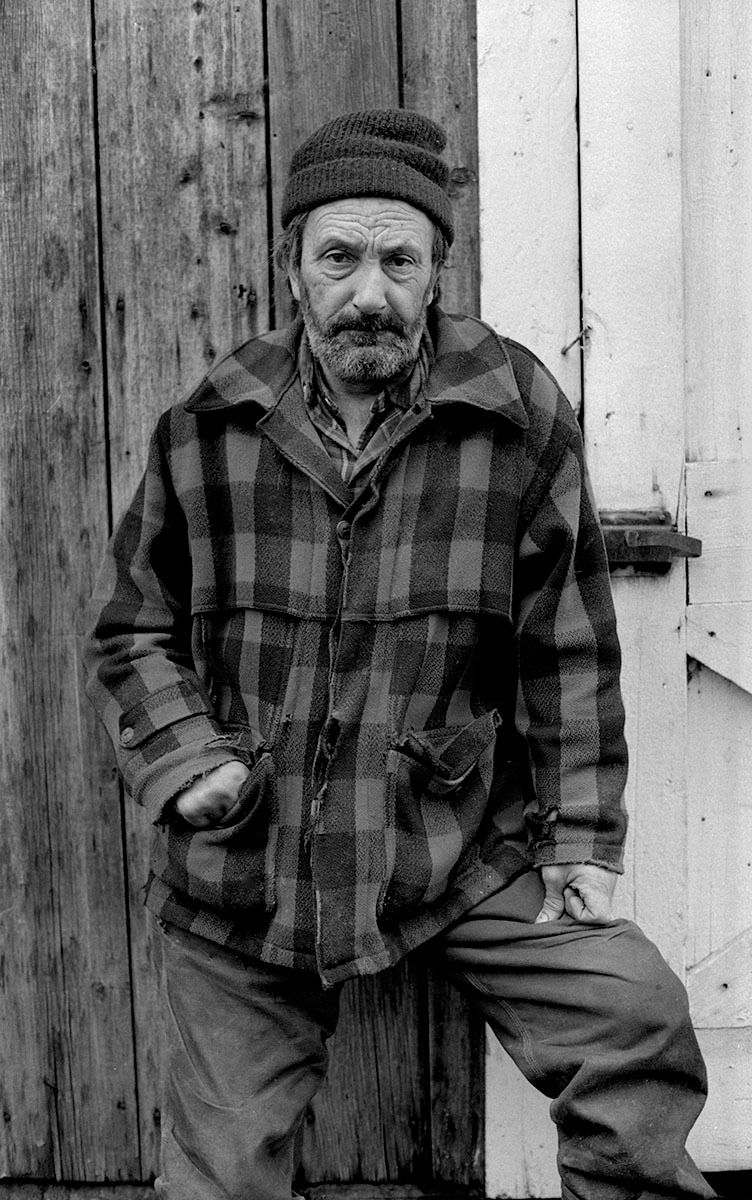 Portrait of Vermont Farmer