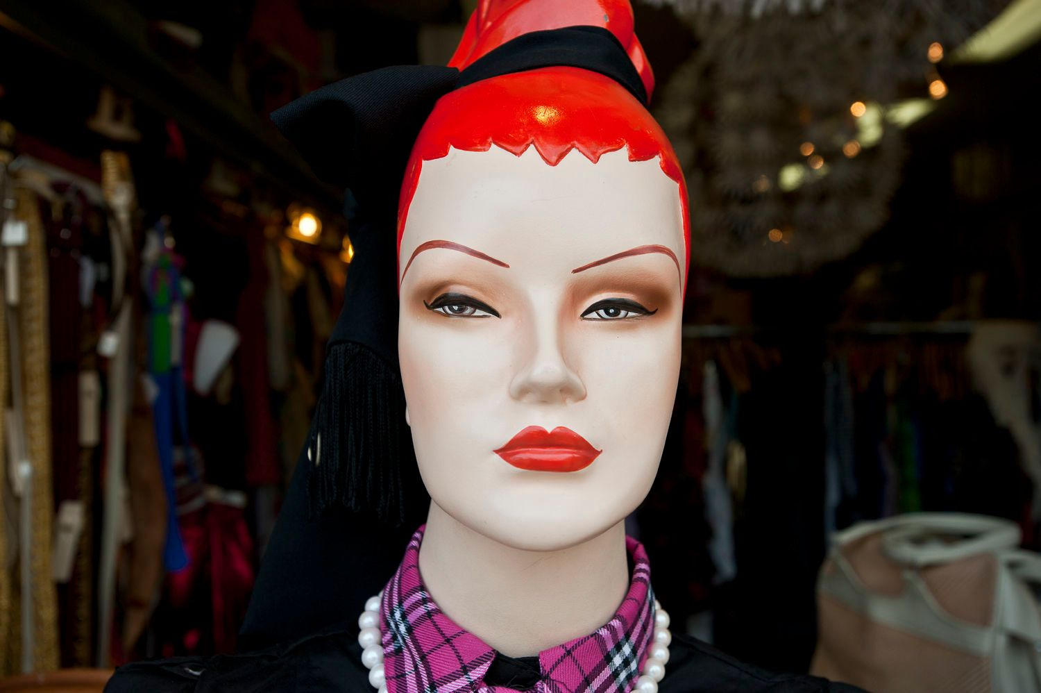 Mannequin with Red Hair