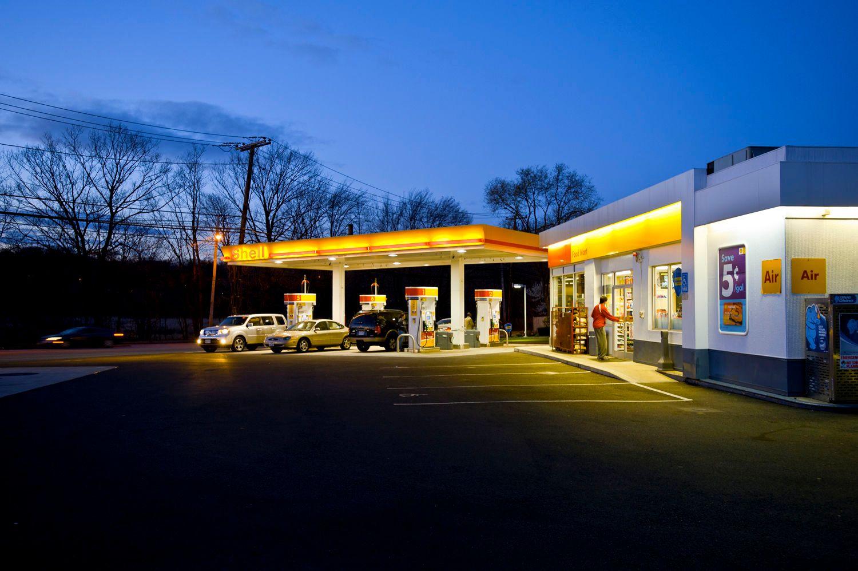 Gas Station, Waltham, MA