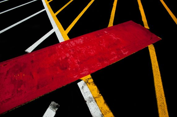 Paint on Roads