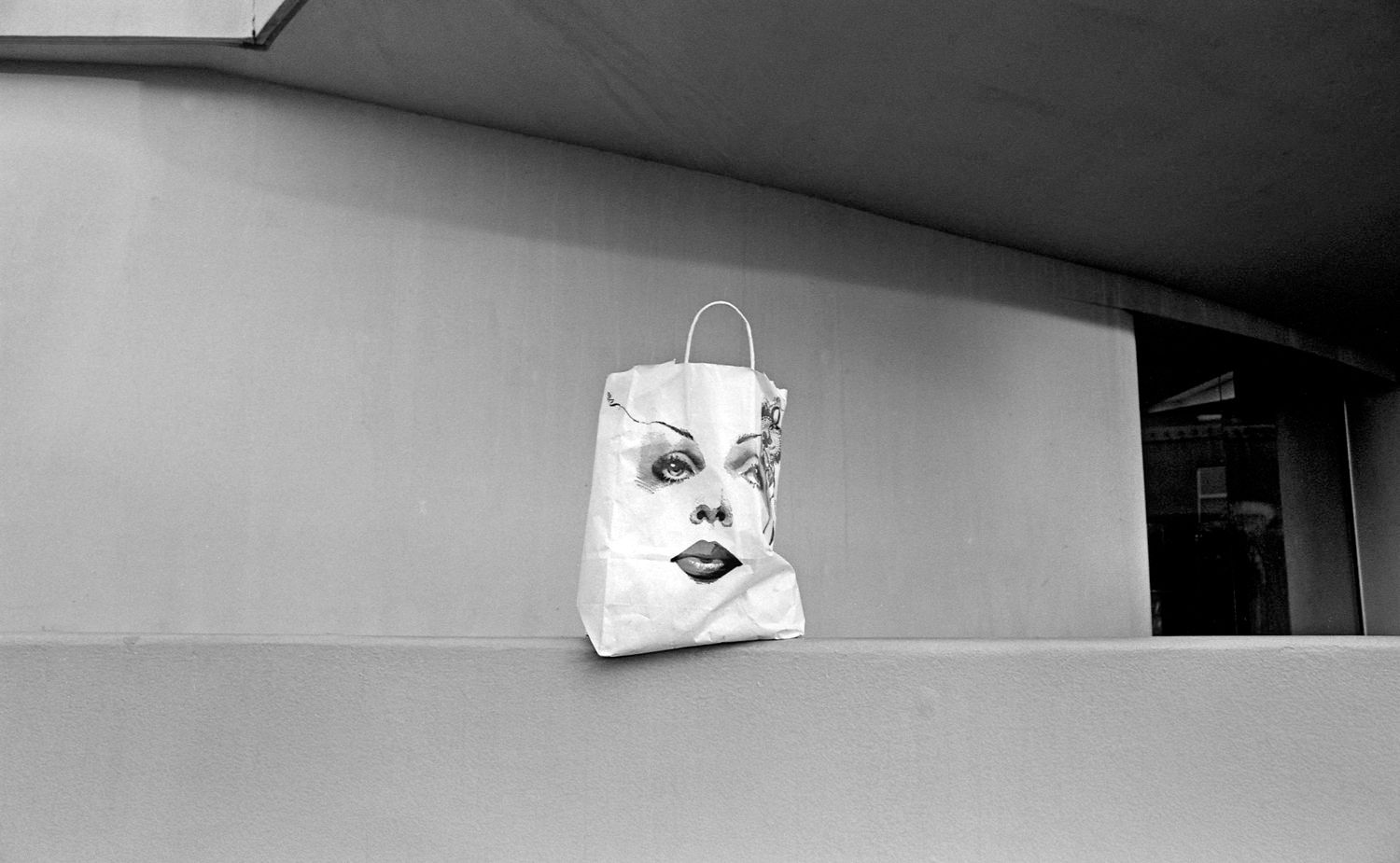 Paper Bag on Wall