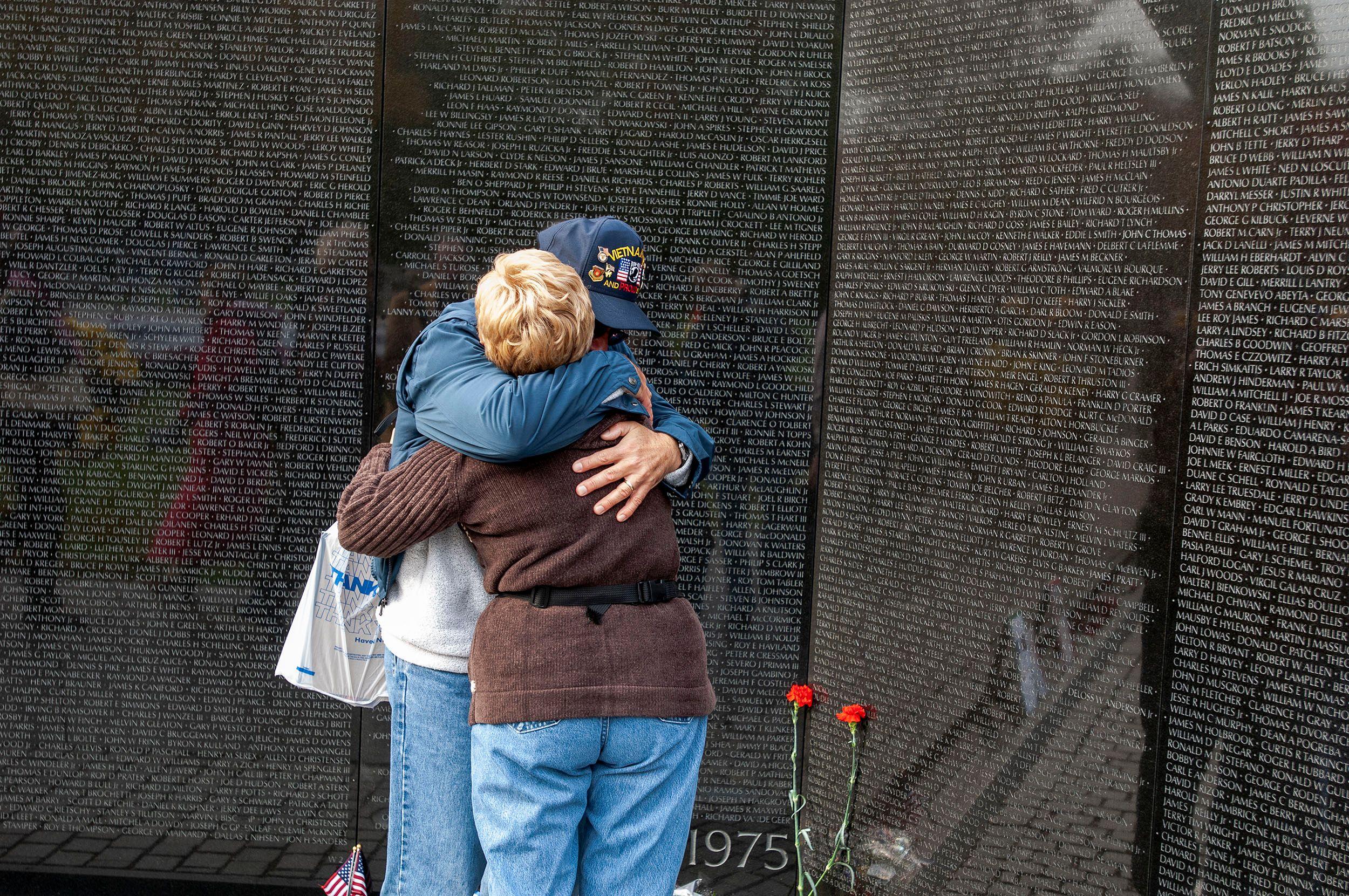 Vietnam Memorial. Washington, D.C.