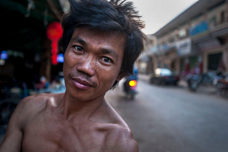 Portrait In Cambodia