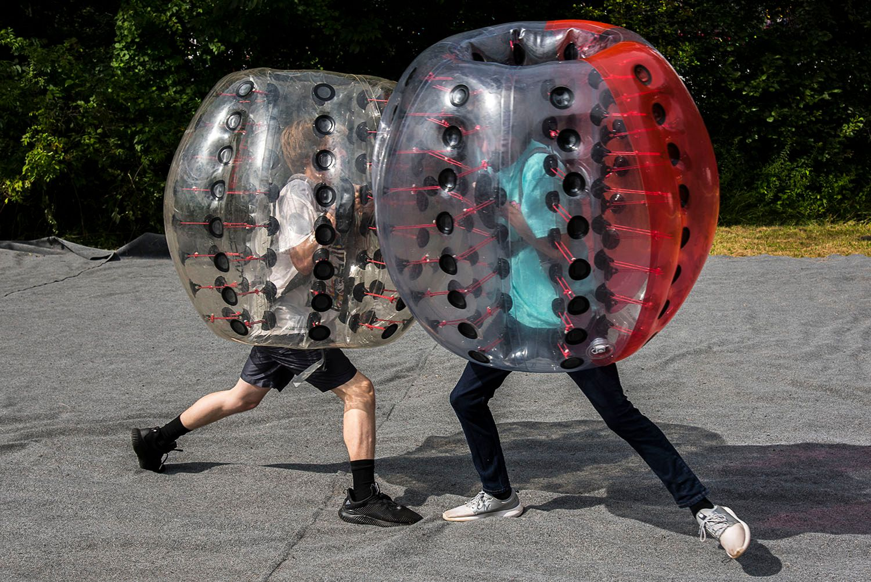 Bubble Wrap Combat
