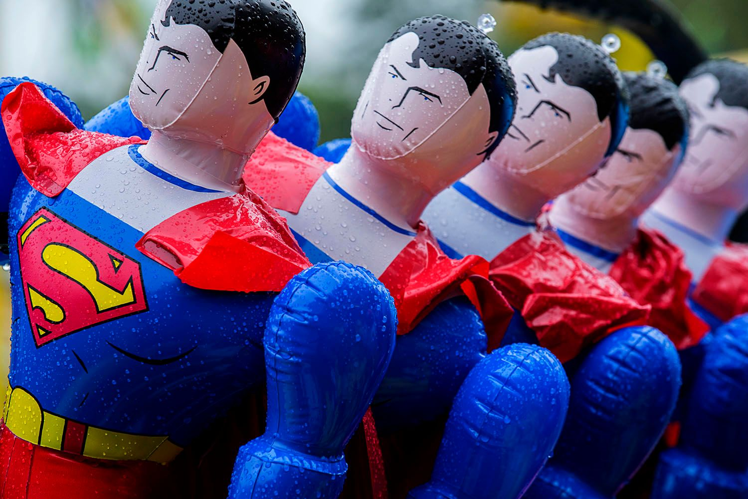 Inflatable Supermen