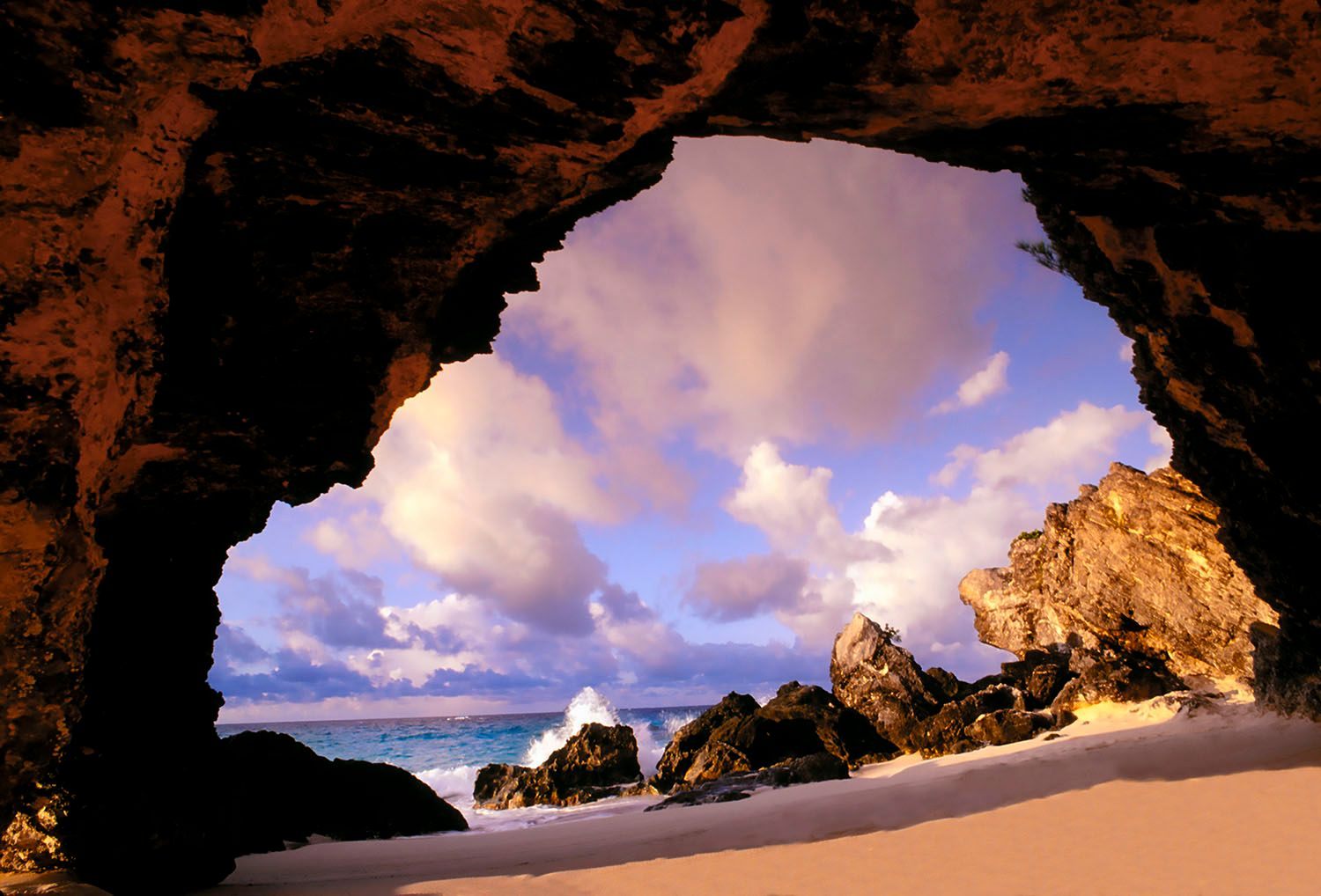 Bermuda Rocks and Sky