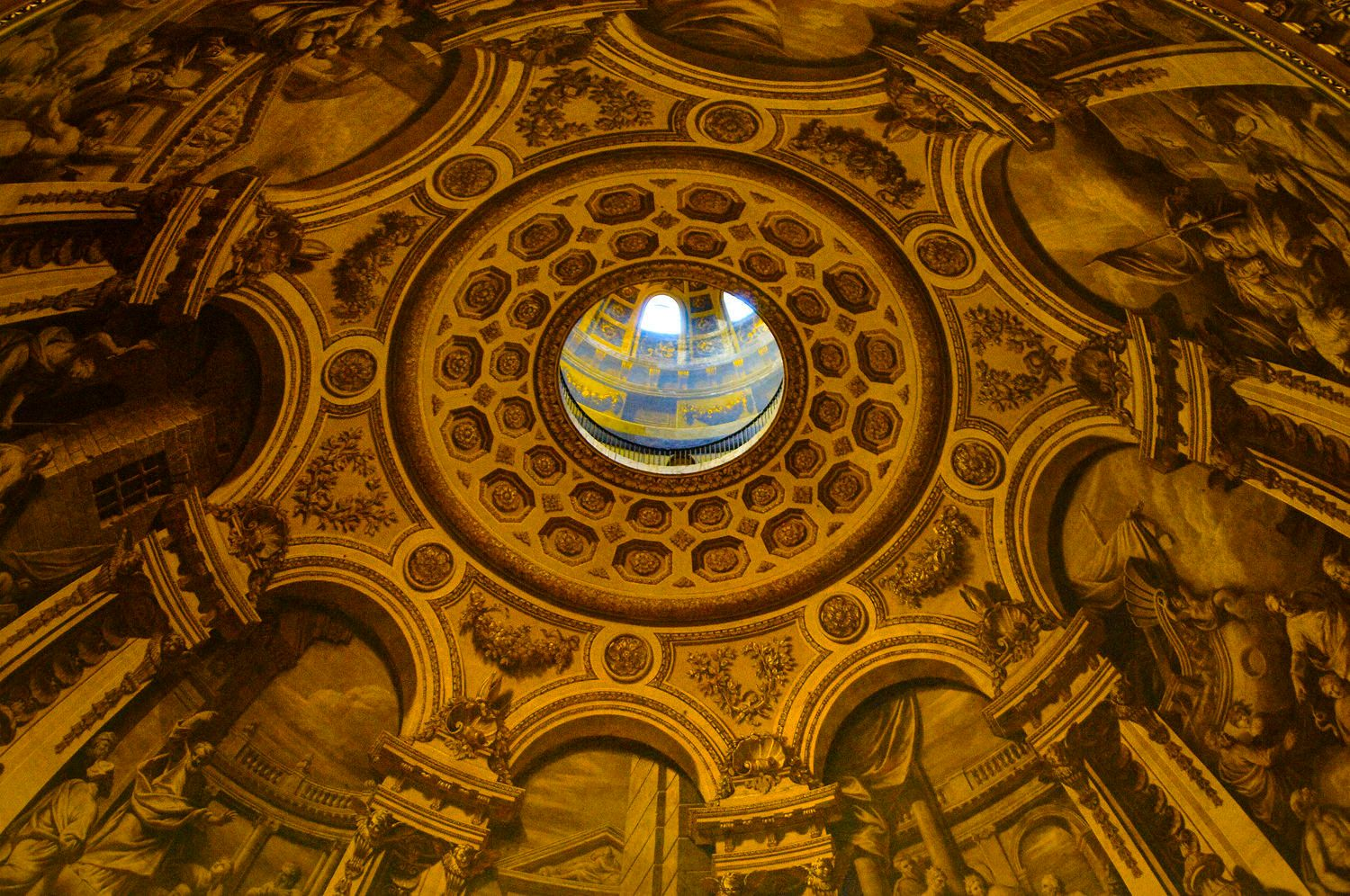 The Rotunda of St Paul's Cathedral, London