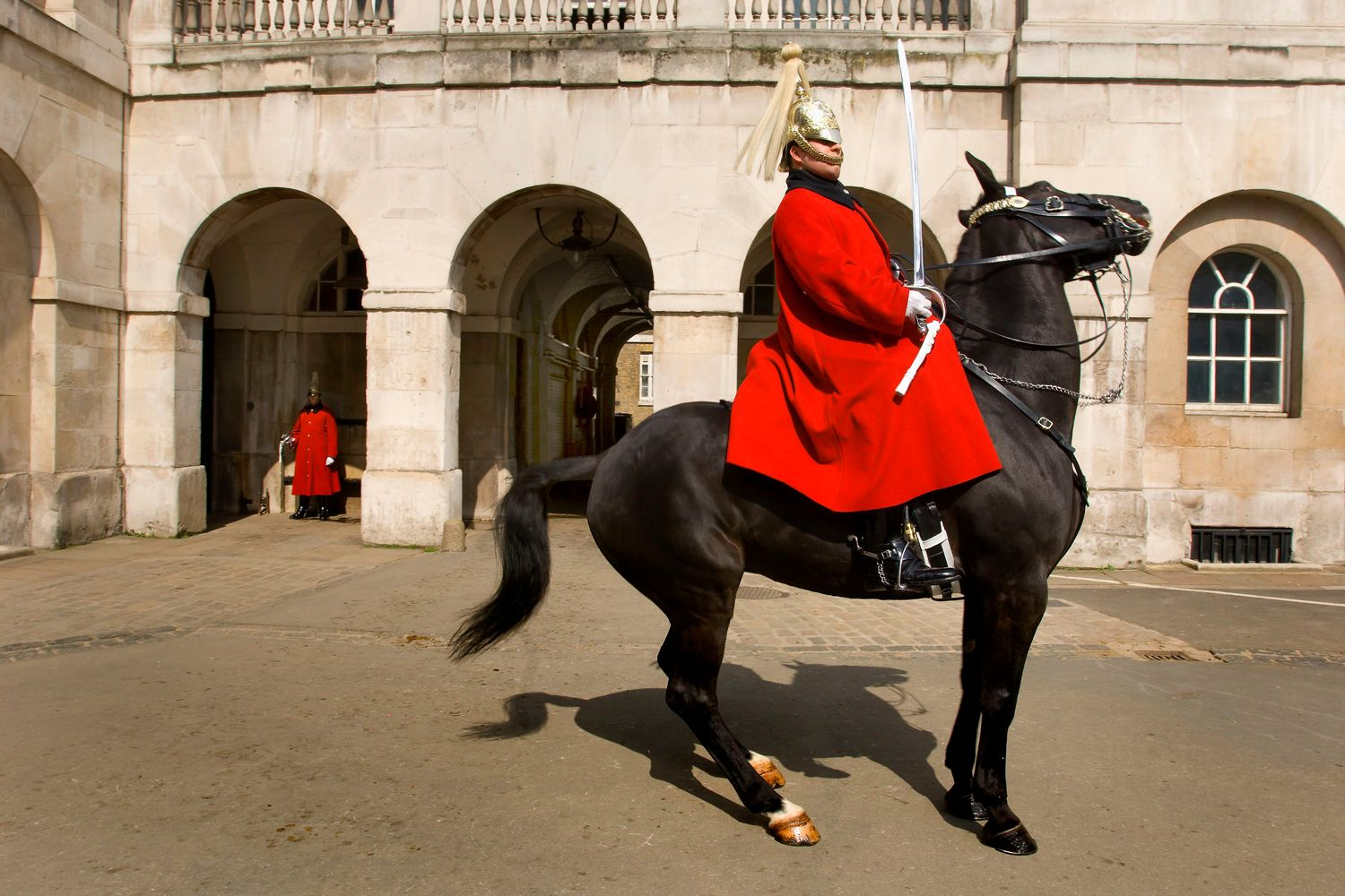 Changing of the Royal Horse Guard