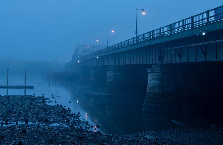 Seaport Avenue Bridge, Boston, MA