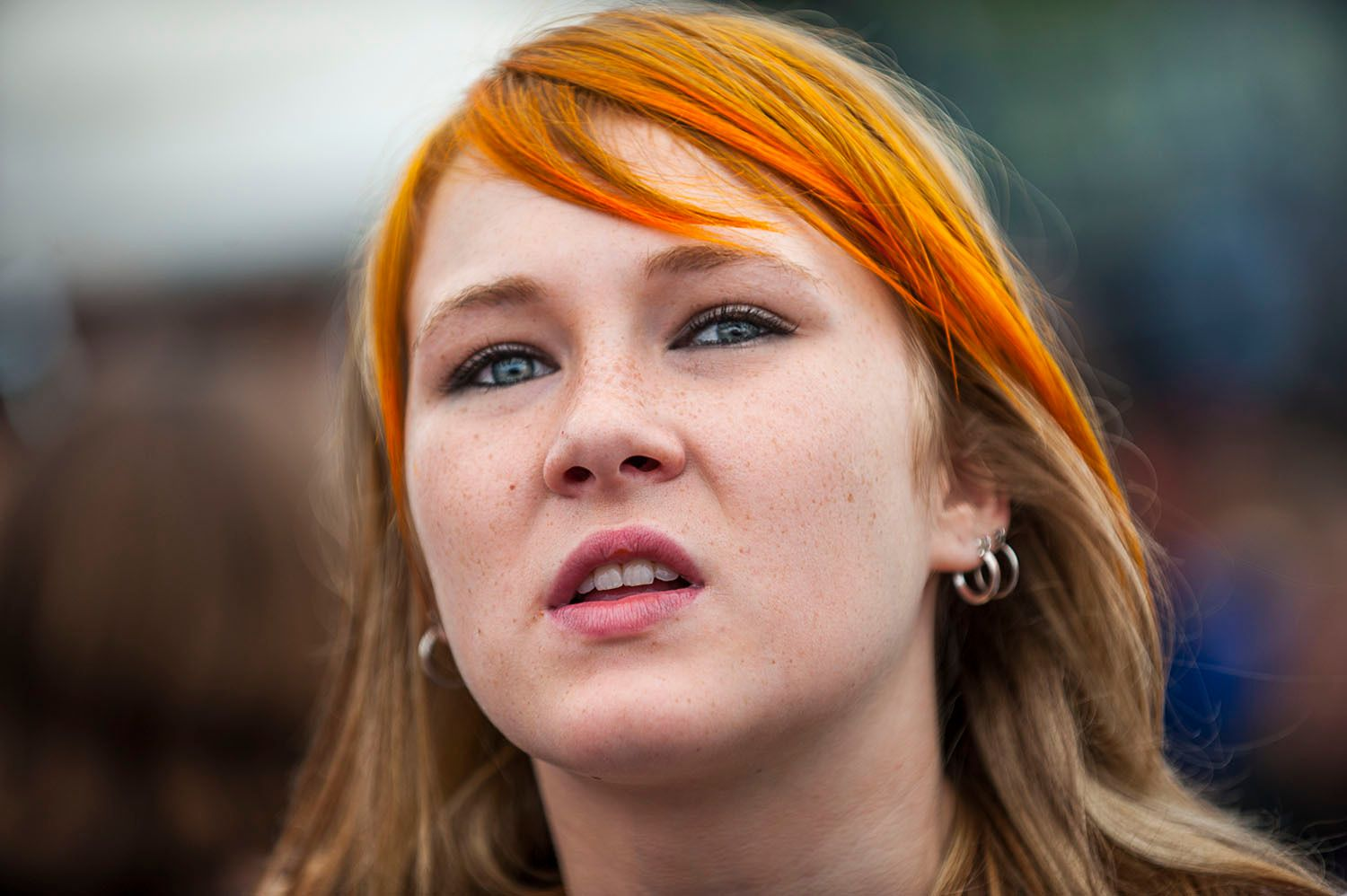 Girl with the orange hair