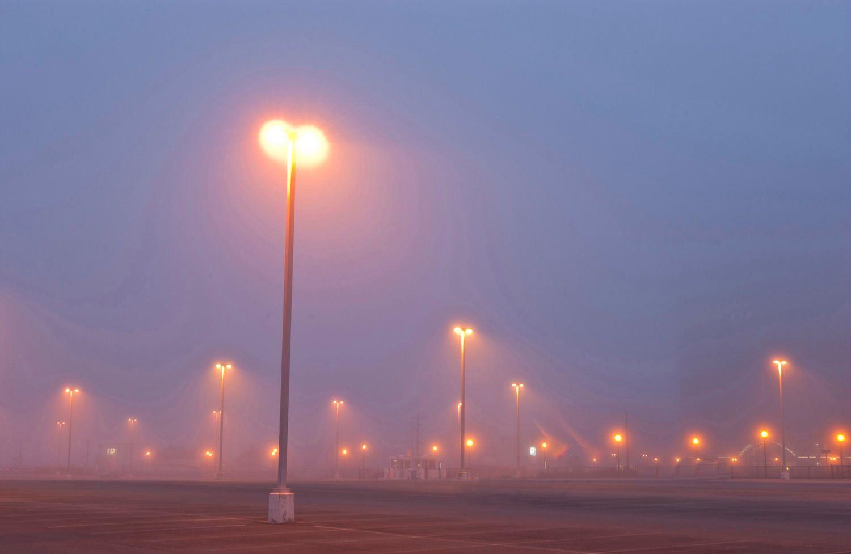 Parking Lot in Fog