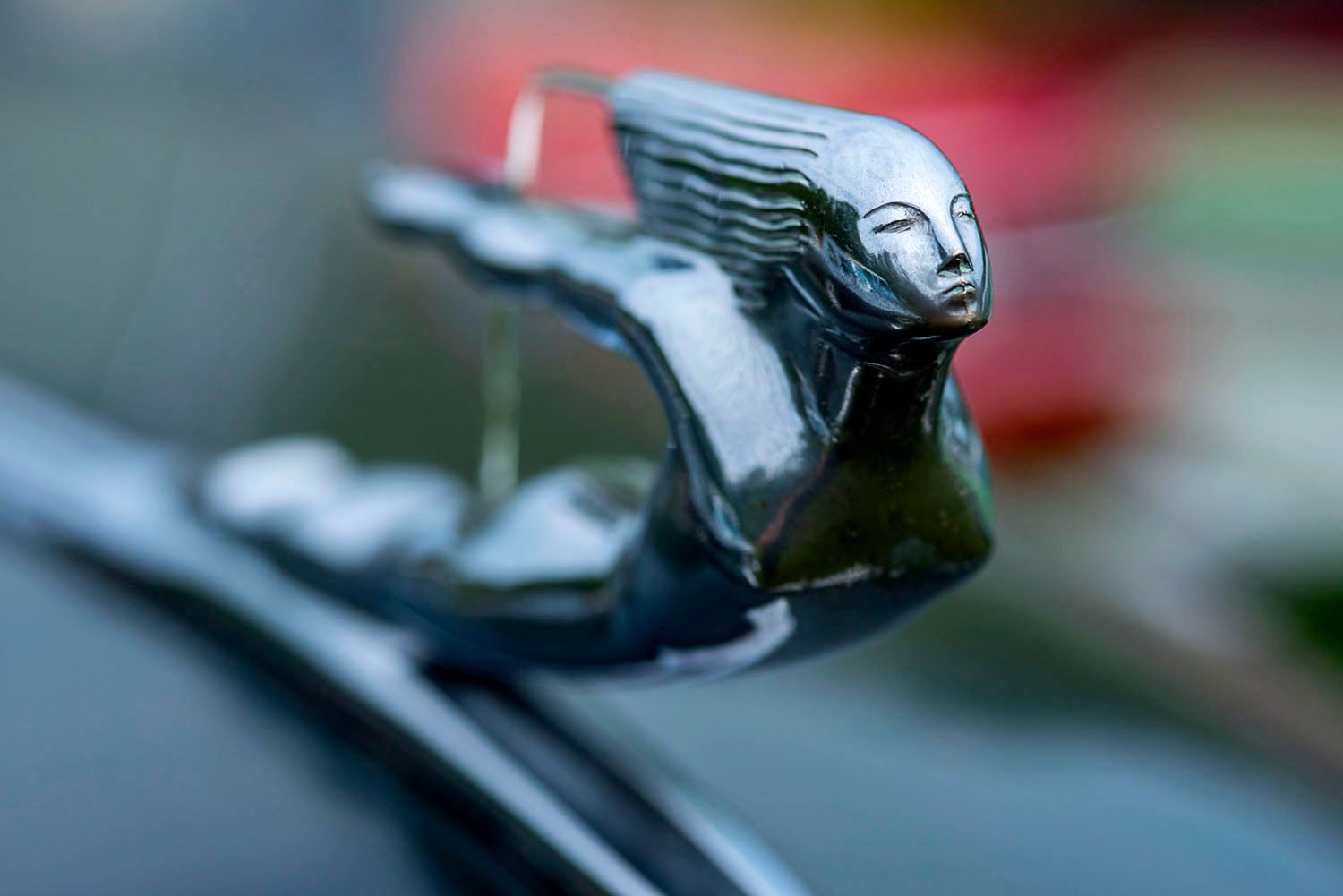 Hood Ornament of Woman