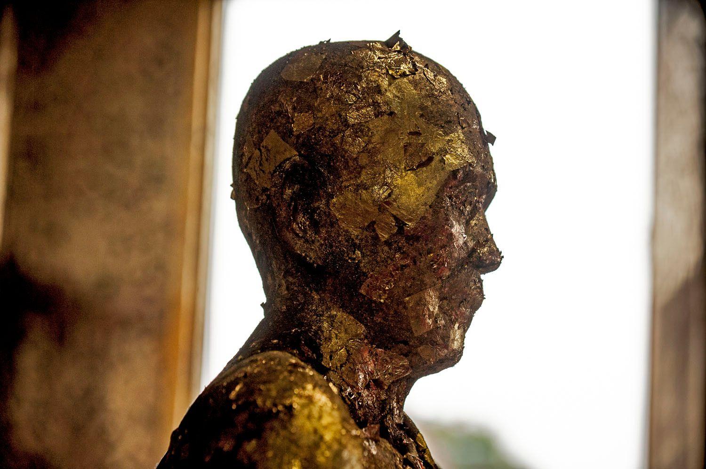 Statue of Buddhist Monk, Chiang Mai, Thailand