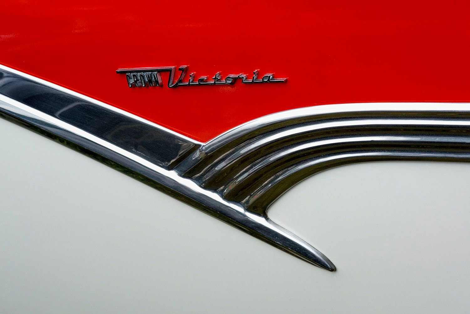 1956 Ford Crown Victoria Detail