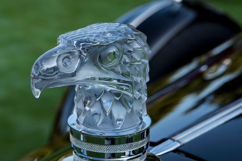 1934 Packard Lalique Glass Hood Ornament