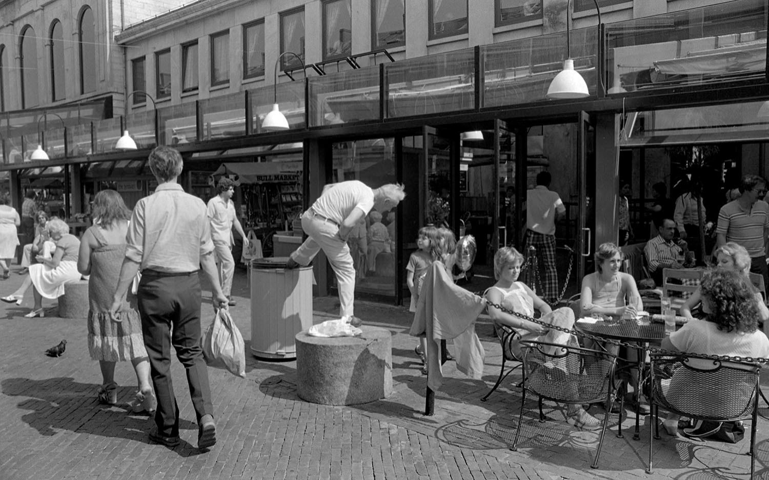 Disorderly Man, Faneuil Hall Marketplace 1970's
