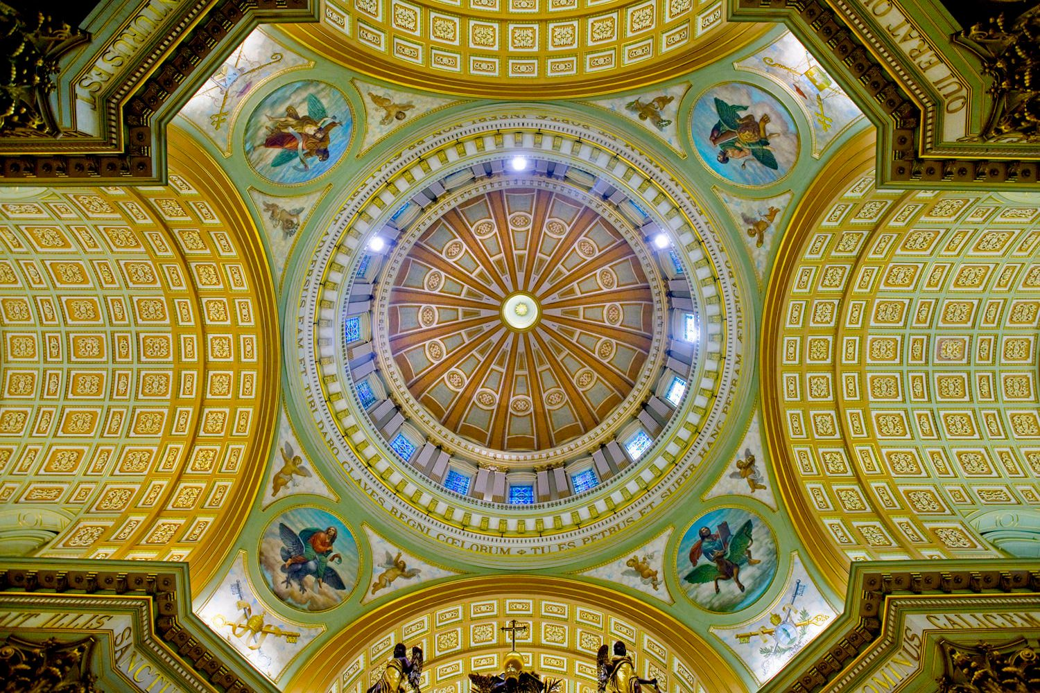 Cathedral Ceiling, Montreal, Canada
