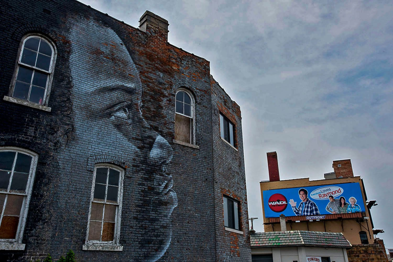 Wall Mural, Detroit, MI
