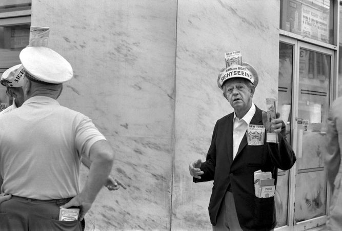 An American Experience: 1970's Street Photography B+W