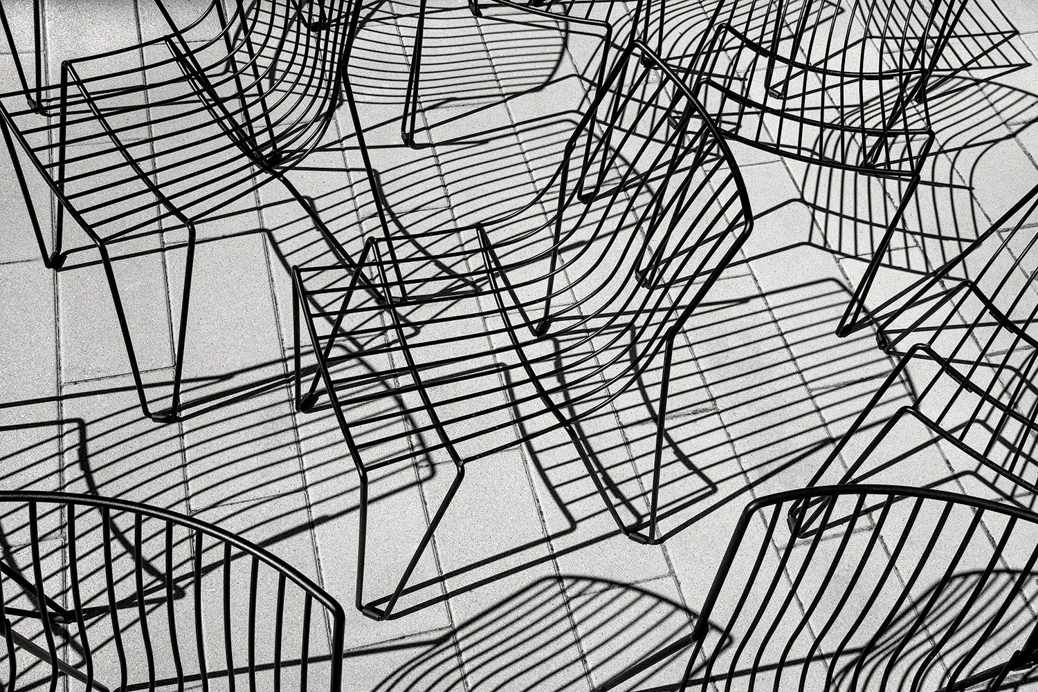 Abstract Chairs and Shadows