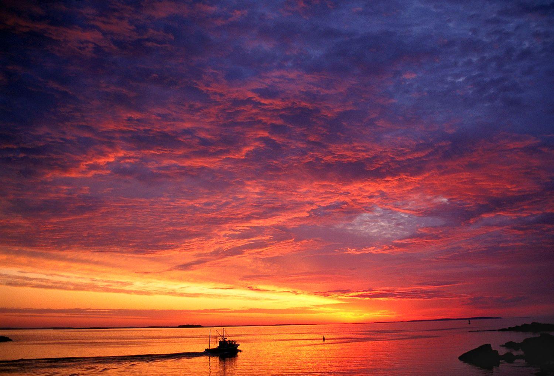 Mascongus Bay Sunrise